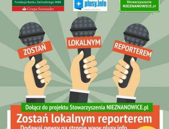 Zostań lokalnym reporterem. Ruszył nowy projekt stowarzyszenia z Nieznanowic