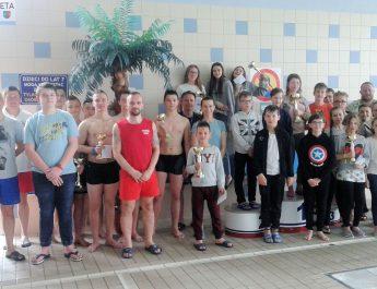 Liga pływacka zakończona na włoszczowskim basenie