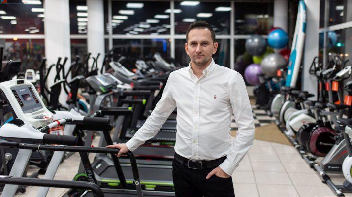 Największy sklep fitness w Polsce Krzysztofa Stępnia z Ciemiętnik