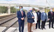 Poseł Krzysztof Lipiec na wizytacji budowanych wiaduktów w powiecie włoszczowskim. Inwestycje będą gotowe już w październiku