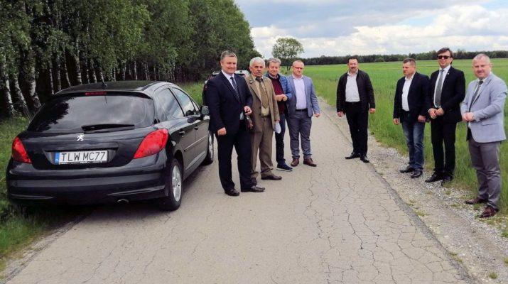 Wizytacja dróg powiatowych