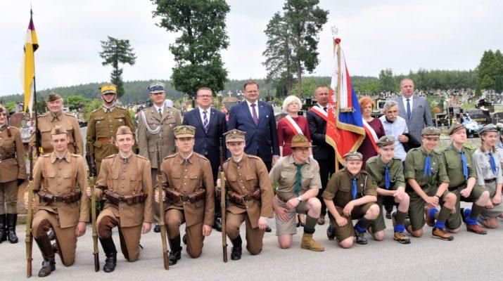 Uroczystości patriotyczne w gminie Kluczewsko