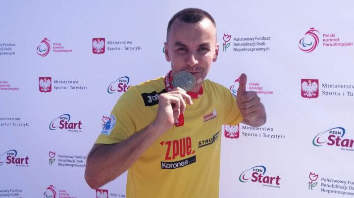 Michał Szafrański mistrzem Polski w pchnięciu kulą