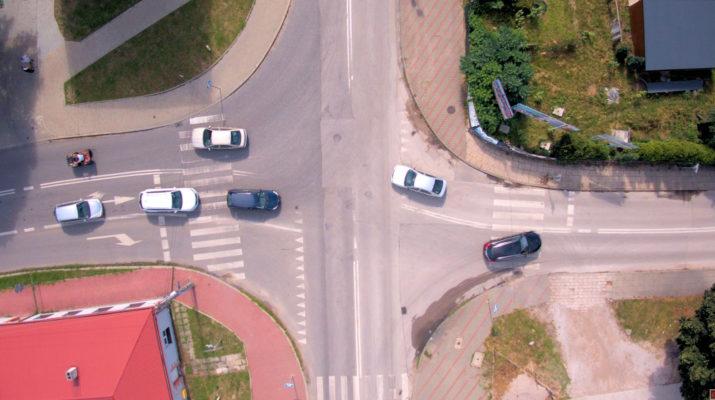 Rondo na ulicy Sienkiewicza we Włoszczowie
