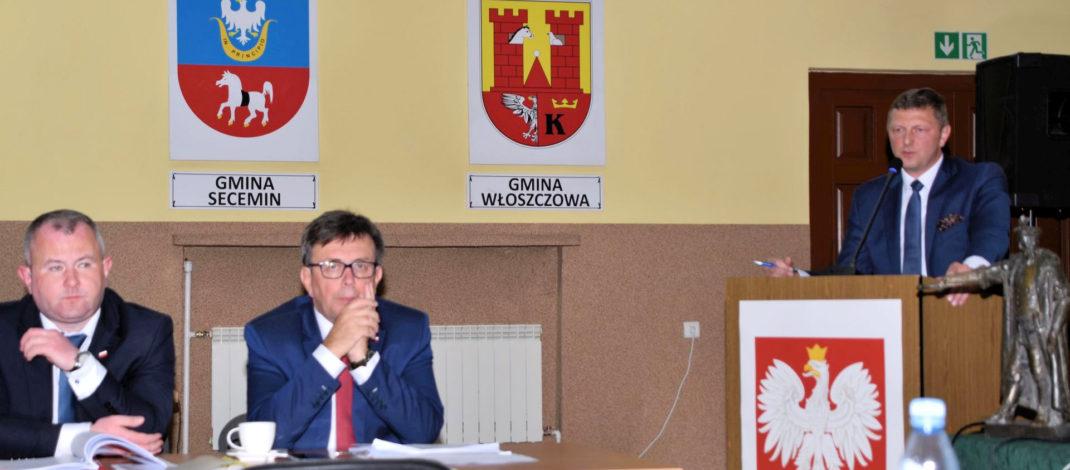 szpital we włoszczowie na sesji rady powiatu