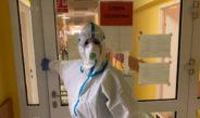 Szpital covidowy we Włoszczowie daje sobie radę. Przebywa w nim obecnie około 60 pacjentów zarażonych koronawirusem