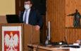 Sesja we włoszczowskim starostwie. Starosta poinformował o terminie otwarcia obwodnicy miasta