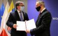 Pół miliona złotych od wojewody dla włoszczowskiego szpitala na rozbudowę instalacji tlenowej dla pacjentów z Covid-19