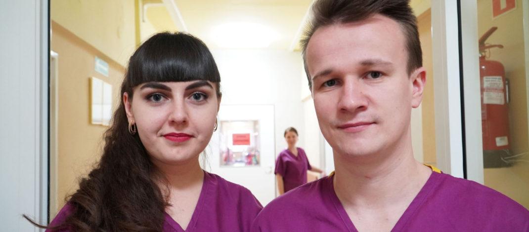 Ukraińscy lekarze w służbie włoszczowskiego szpitala. Niebawem nabędą uprawnienia i będą mogli u nas leczyć